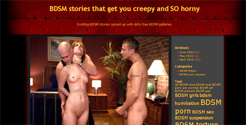 Free bdsm stories abrasion play
